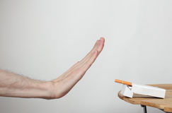 Smoking is harmful to your health Royalty Free Stock Image