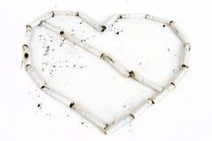 Smoking Heart Stock Image