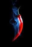 Smoking Hot Red Chilli Pepper Royalty Free Stock Images