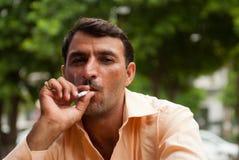 Smoking in India Royalty Free Stock Photos