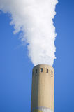 Smoking industrial chimney Stock Photo