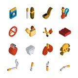 Smoking Isometric Icon Royalty Free Stock Photo