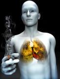 Smoking kills concept Royalty Free Stock Photography