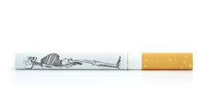 Smoking kills , a conceptual image. Stock Photo