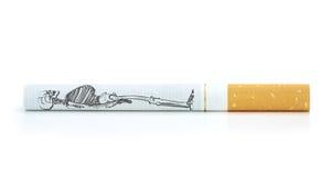 Smoking kills , a conceptual image. Stock Photo