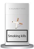 Smoking kills Royalty Free Stock Image