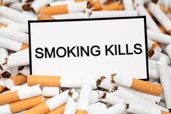 Smoking Kills Stock Image