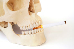 Smoking kills, Stop smoking. Royalty Free Stock Photo