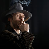 Smoking-man Stock Photos
