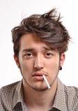 Smoking man. Stock Photography