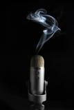 Smoking Mic 1 Stock Image