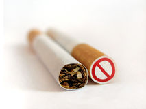 Smoking not allowed Royalty Free Stock Photo