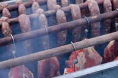 Smoking oven Stock Image