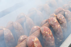 Smoking oven Stock Photo