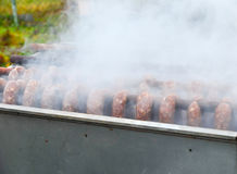 Smoking oven Royalty Free Stock Photography
