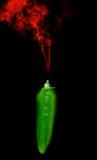 Smoking Pepper Royalty Free Stock Photo
