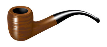 Smoking pipe Royalty Free Stock Images