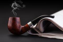 Smoking pipe Royalty Free Stock Photo