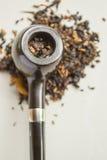 Smoking pipe Stock Photography