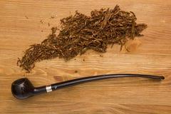 Smoking pipe for women Royalty Free Stock Photos