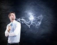 Smoking pipe Stock Image