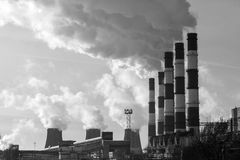 93ba7ae0 Thermal Power Plant Black White Stock Images - Download 91 Royalty ...