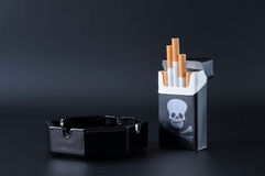 Smoking is a poison Stock Photo