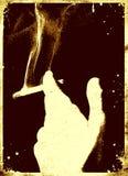 smoking poster Stock Photo
