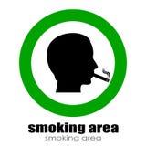 Smoking room Stock Photography