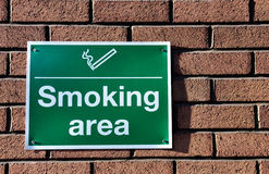 Smoking sign Royalty Free Stock Images