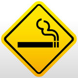 Smoking sign Royalty Free Stock Photos