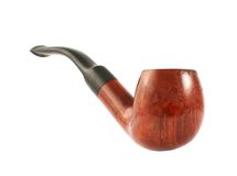 Smoking tobacco pipe Royalty Free Stock Photo
