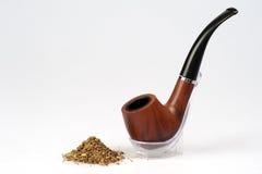 Smoking tube Royalty Free Stock Photo
