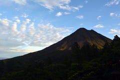 Smoking volcano Arenal in Costa Rica Royalty Free Stock Photos