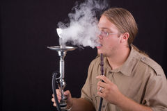 Smoking water pipe Stock Photos