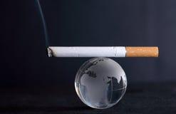 Smoking World Stock Photo