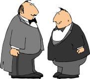 smokingi dwóch facetów Obrazy Stock
