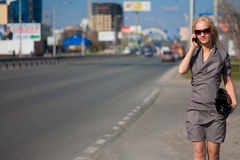 smokingowa grey smokingowy kobieta Zdjęcia Royalty Free