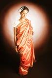 smokingowa indyjska krajowa kobieta fotografia royalty free