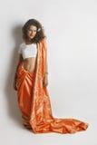 smokingowa indyjska krajowa kobieta Zdjęcie Royalty Free