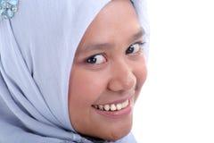 smokingowa muzułmańska kobieta zdjęcia stock
