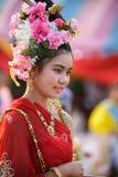 smokingowa tajlandzka tradycyjna kobieta Zdjęcie Royalty Free