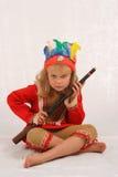 smokingowa wykwintną dziewczyna t Obraz Royalty Free