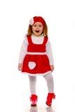 smokingowej dziewczyny trykotowy mały Obrazy Royalty Free