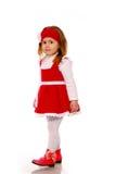 smokingowej dziewczyny trykotowy mały Zdjęcia Royalty Free