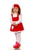 smokingowej dziewczyny trykotowy mały Zdjęcie Stock