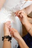 smokingowy ślub Zdjęcia Stock