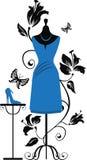 smokingowy Ang mannequin kuje krawczynów Obraz Royalty Free