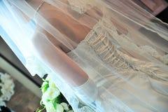 smokingowy czerepu rozkazu ślub Fotografia Royalty Free