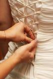 smokingowy gorsecika ślub Obraz Royalty Free